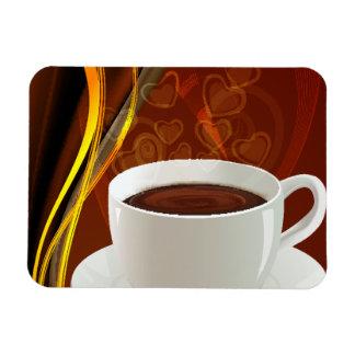 Café del arte del café imanes flexibles