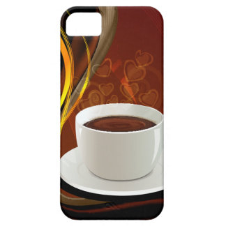 Café del arte del café iPhone 5 fundas