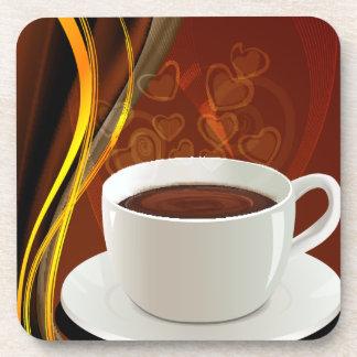 Café del arte del café posavasos de bebidas