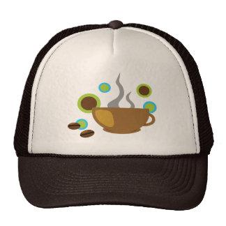 Café del arte pop gorras