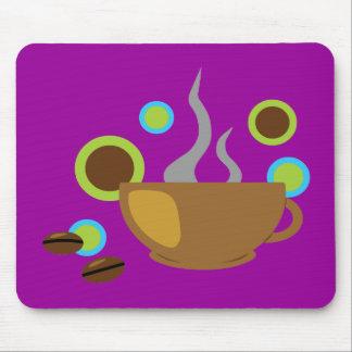Café del arte pop mouse pad