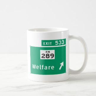 Café del bienestar taza clásica