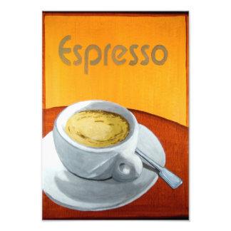 Café del café express del vintage impresiones fotográficas