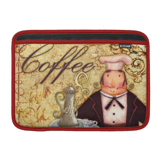 Café del cocinero fundas MacBook