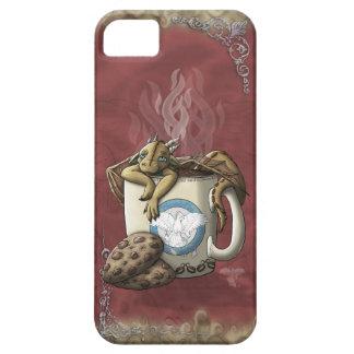 [Café del dragón de la taza de té] iPhone 5 Fundas