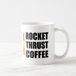 Café del empuje de Rocket Taza