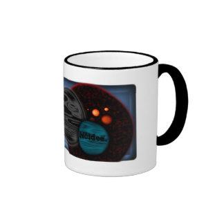 Café del espacio taza de café