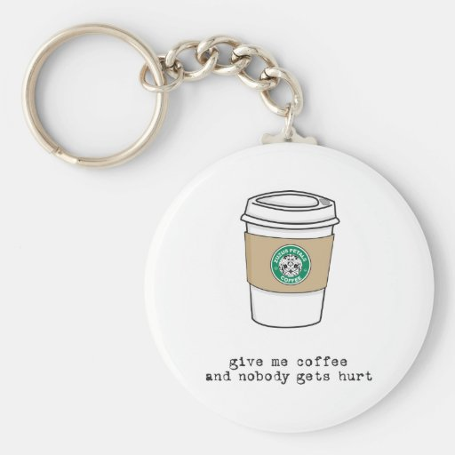 café del gimme llavero