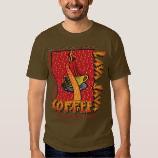 Café del Hawaiian de Java de la lava Remeras