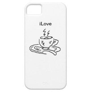 café del iLove iPhone 5 Carcasa