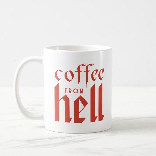 ¡Café del infierno! Taza