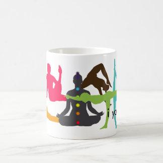 café del iyoga o taza del té