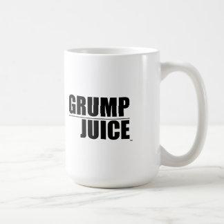 Café del jugo del Grump Tazas
