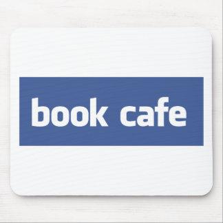 café del libro alfombrillas de raton