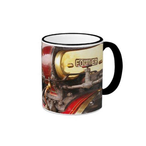 café del motor de tracción del cazador de taza a dos colores
