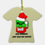 Café del navidad ornamentos de reyes