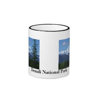 Café del parque nacional de Denali/taza/taza del Taza De Dos Colores