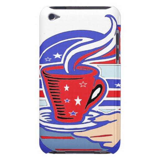 Café del patriota Case-Mate iPod touch fundas