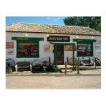Café del pen¢asco del coyote en postal de