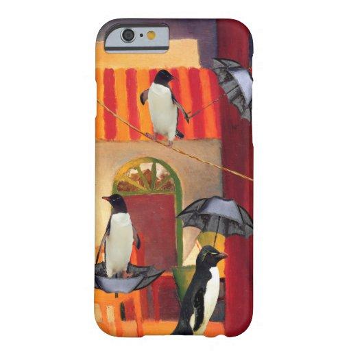 Café del pingüino funda de iPhone 6 barely there