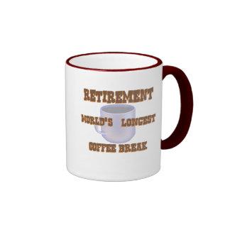 Café del retiro tazas de café