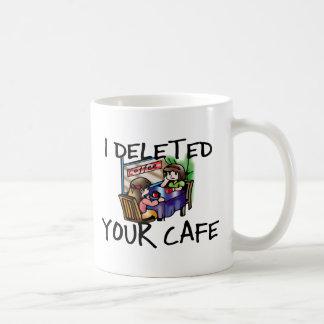 Cafe Deleted Coffee Mug