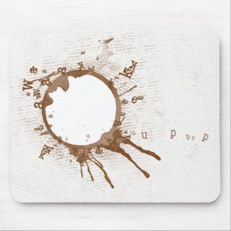 Café derramado Mousepad