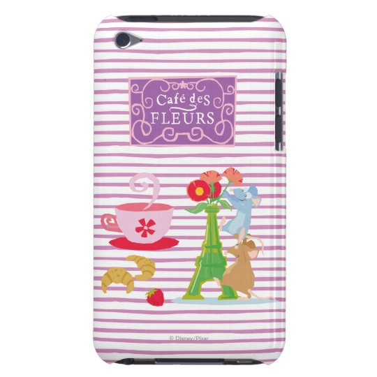 Cafe des fleurs iPod touch case