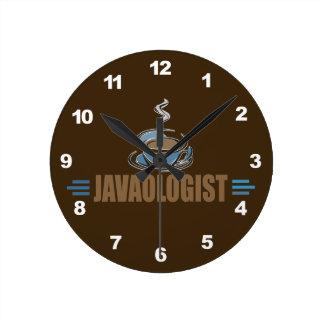 Café divertido reloj