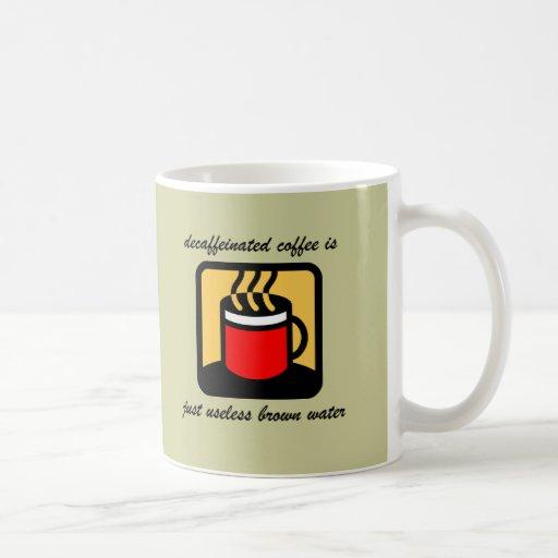 Café divertido taza clásica