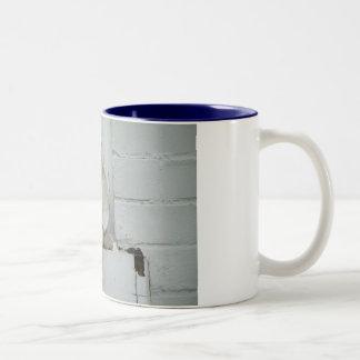 Café divino taza de dos tonos