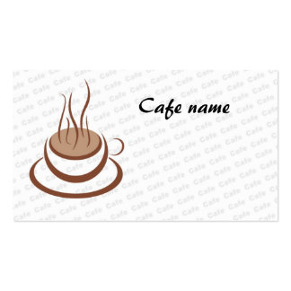 Cafe Double-Sided Standard Business Cards (Pack Of 100)
