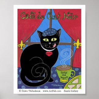 Cafe du Chat Noir Poster