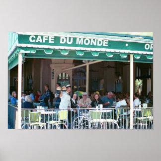 Cafe Du Monde Fun Póster