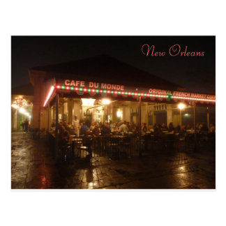 """Cafe du Monde"", New Orleans, Louisiana, USA Postcard"
