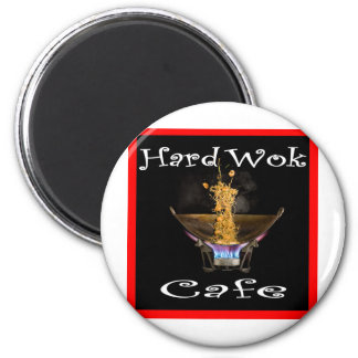 Café duro Tailandia del Wok Imán Redondo 5 Cm