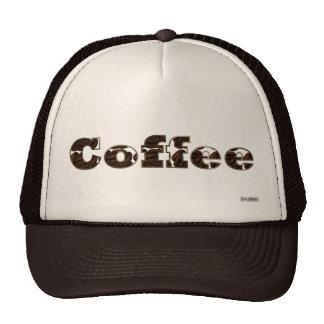 Café el gorra de la palabra