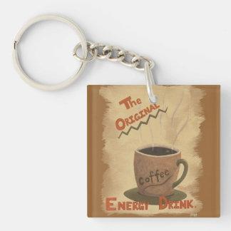 Café - el llavero original de la bebida de la