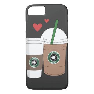 ¡Café en amor! Funda iPhone 7