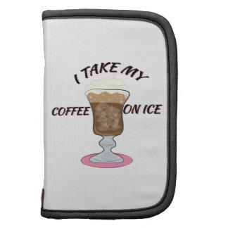 Café en el hielo organizador