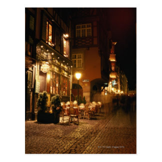 Café en Estrasburgo Postales