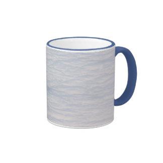 Café en la taza de las nubes
