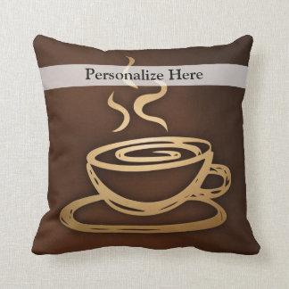 Café en mi taza cojines