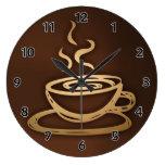 Café en mi taza reloj