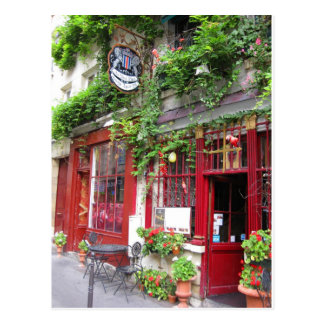 Café en París Postal