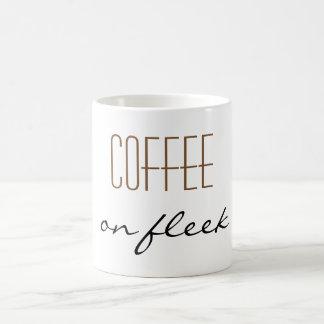 """""""Café en taza de Fleek"""""""
