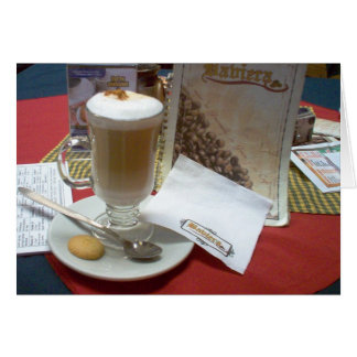 Cafe en Xela Card
