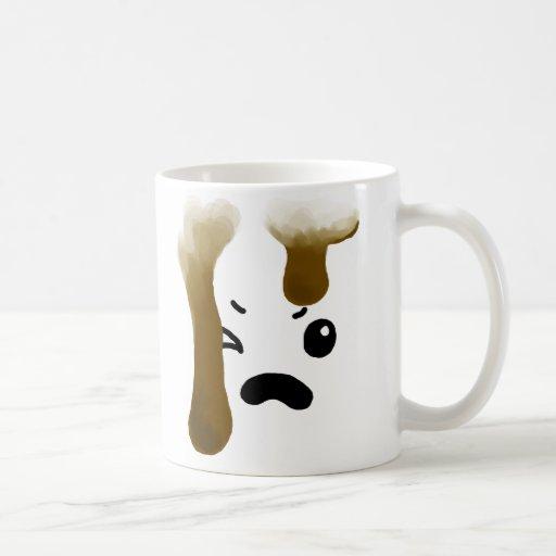 Café enojado taza de café