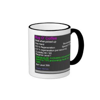 Café épico de O de la taza del granuja