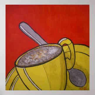 Café espumoso posters
